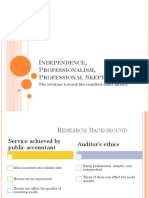 Independence, Professionalism, Professional Skepticism_the Relation Toward the Resulted Audit Quality