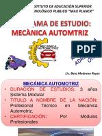 Carr. Prof. Mecanica Automotriz