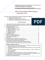 WBS Application Guide for International MBA Program Sep2016