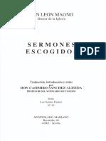 San León Magno-Sermones I