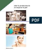 Cómo Estimular La Producción de Colágeno Para Mejorar La Piel