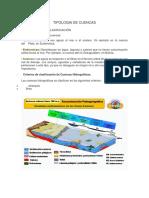 tipologia de cuencas