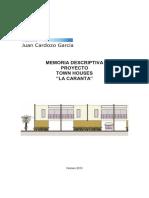 Memoria Town Houses La Caranta