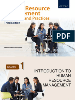 Chapter 1 Introduction to Human Resource Management