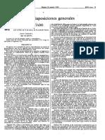Ley de Extradicion Pasiva - Marzo, 21 1985 (España)