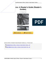 Spinozas Ethics Readers Guide Guides 0826489168