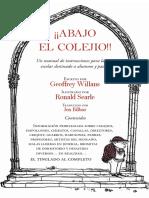 A Bajo El Colejio - Geoffrey Willans