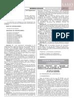 DECRETO SUPREMO N° 029-2019-VIVIENDA