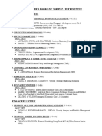 PGP_III_Trisem_course list & recommended books