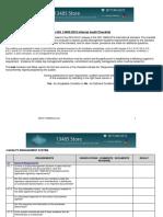 13485 2016 Ia Sample Checklist