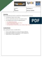 Digiskills Batch 4 E-Commerce Assignment