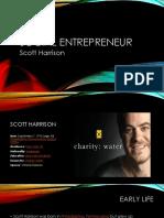 Social entrepreneurs presentation