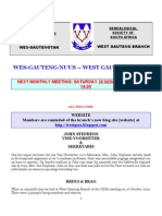 Wes-Gauteng-nuusbrief 2010-11