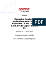 Upgrading JavaScript Applications