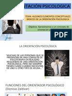 ORIENTACIÓN PSICOLOGICA CLASE 2