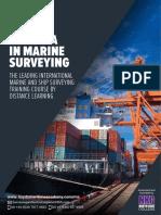 Diploma in Marine Surveying Brochure 2018