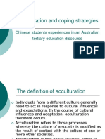 F Acculturation