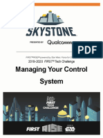 Managing Your Control System