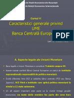 Curs 5 Banca Central Europeana