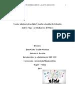 Articulo de Revision Teorias Administrativas Siglo Xx