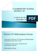 Oak Park schools referendum presentation