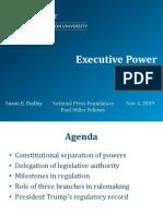 Executing Executive Power