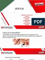 hemofilia BIOQUIMICA