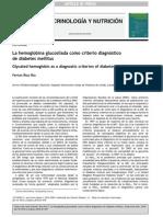 Diebtes Care Diagnostico Con Hemoglobin A Gucosilada2010