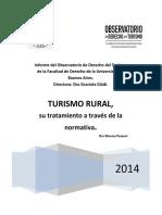 Turismo Rural Normativa