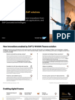 Intelligent Finance With SAP_Value_Snapshot