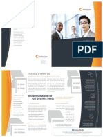 Brochure Template from o365 MS word