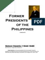 Former Presidents (1944-2016)