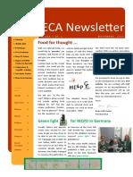 eca newsletter autumn 2019