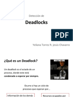 Presentation - Deadlock detection
