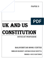 P3 Uk and Us Constitution