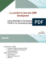Blackberry and Java