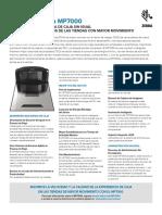 MP7000 Spec Sheet Es La