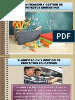 PLANIFICACION Y GESTION DE PROYECTOS EDUCATIVOS HONDURAS.ppt