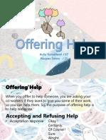 Offering Help