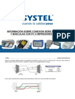 Protocolo de Comunicación RS232 Systel ESP