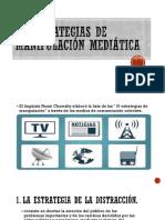 10 estrategias de manipulación mediática