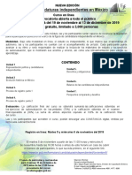 curso CANDIDATURAS Independientes