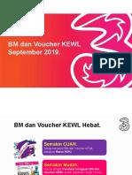 Program BM & VKewl September 2019