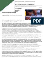 La nuova attività della P.A. tra autorità e consenso.pdf