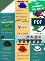 6 Sombreros Para Pensar (Triptico)