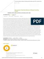 Understanding Urban Consumers' Food Choice Behavior in Ethiopia_ Promoting Demand for Healthy Foods _ IFPRI _ International Food Policy Research Institute