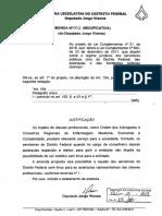 Emenda Modificativa ao PLC-2019-00021-EME-001-CAS - Jorge Vianna