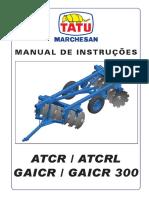 Manual Grade Tatu GAICR S 0791