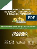 Programa Coremif 2018