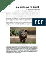 Animais em extinção no Brasil.docx